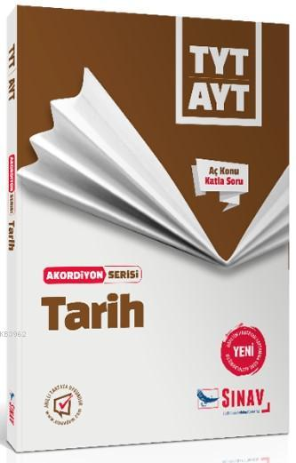 Sınav Dergisi Yayınları TYT AYT Tarih Akordiyon Serisi Aç Konu Katla Soru Sınav Dergisi