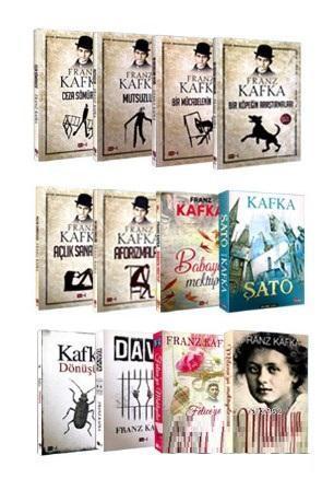Franz Kafka Seti 12 Kitap
