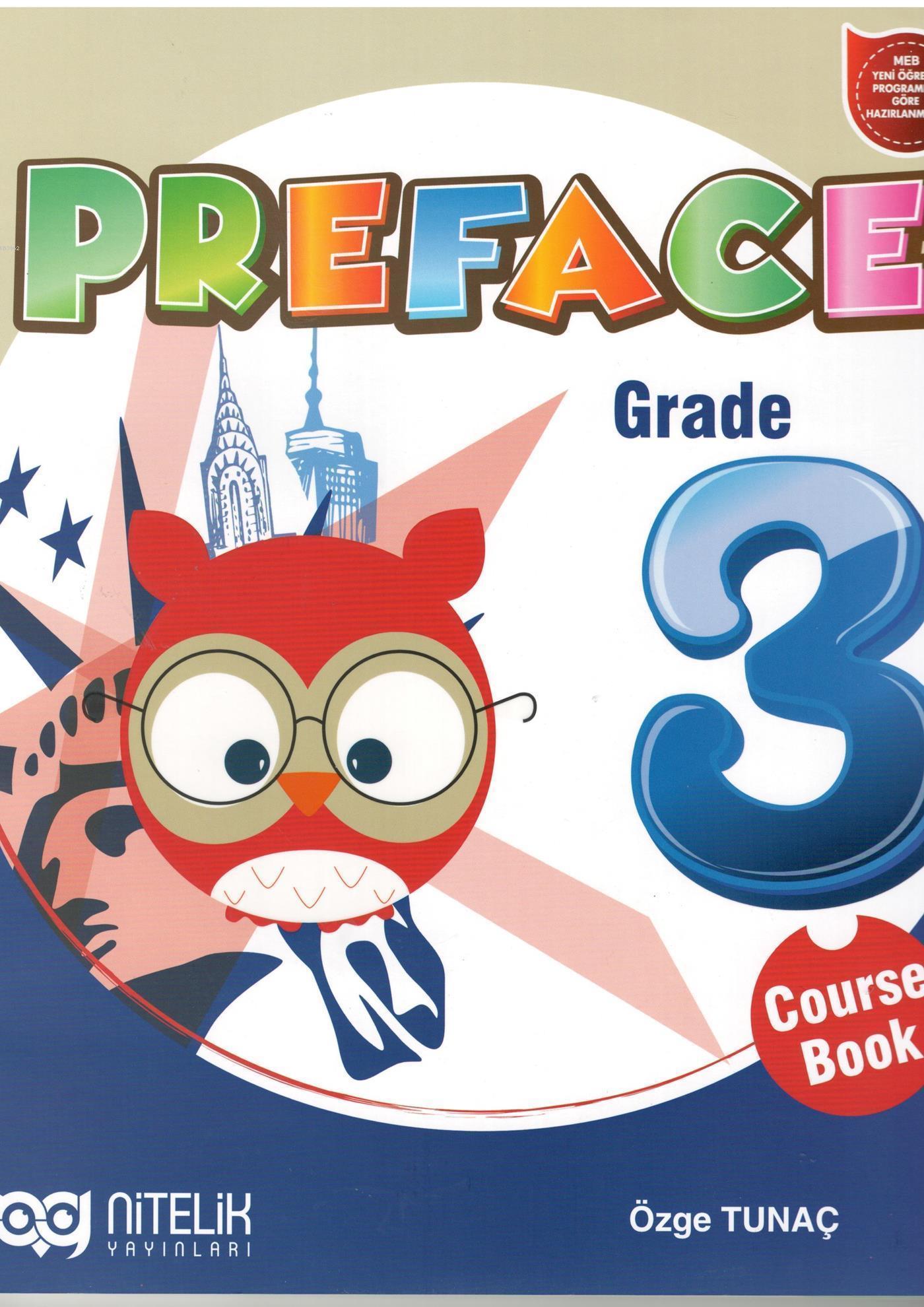 Nitelik Yayınları 3. Sınıf İngilizce Preface Course Book Nitelik