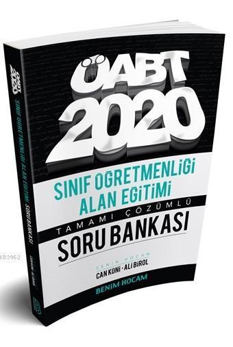 2020 ÖABT Sınıf Öğretmenliği Alan Eğitimi Soru Bankası Benim Hocam Yayınları