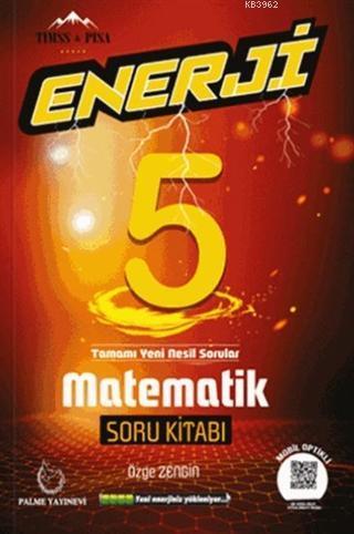 Palme Yayınları 5. Sınıf Matematik Enerji Soru Kitabı Palme