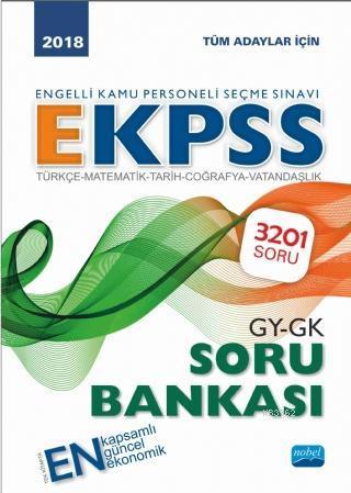 2018 Engelli Kamu Personeli Seçme Sınavı- EKPSS Soru Bankası