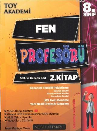 8.Sınıf Fen Profesörü 2.Kitap DNA ve Genetik Kod