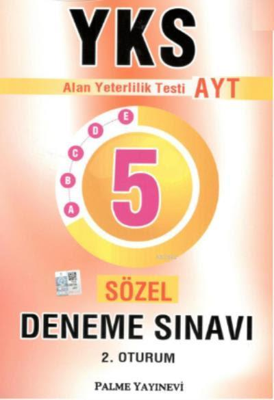YKS AYT 5 Sözel Deneme Sınavı 2. Oturum