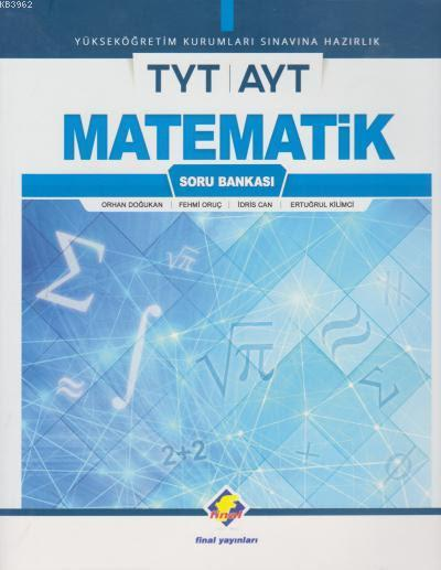 2018 YKS TYT AYT Matematik Soru Bankası