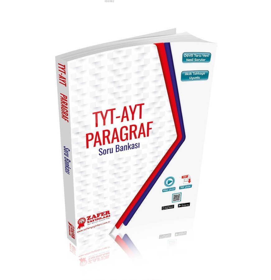 Zafer TYT-AYT Paragraf Soru Bankası