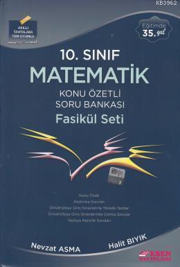 10. Sınıf Matematik Konu Özetli Soru Bankası Fasükül Seti