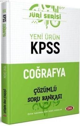 Data Yayınları KPSS Coğrafya Jüri Serisi Soru Bankası