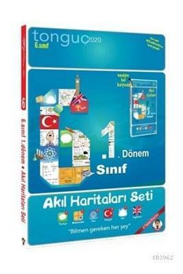 Tonguç Yayınları 6. Sınıf 1. Dönem Akıl Haritaları Seti Tonguç