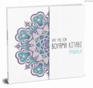 Her Yaş için Çek Kopart Boyama Kitabı - Mandala