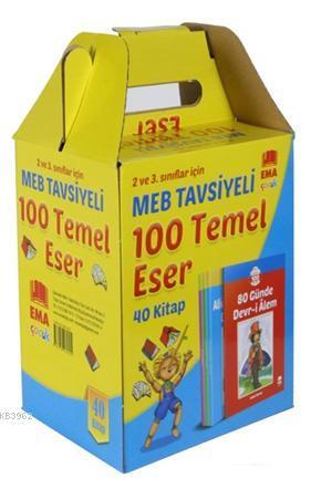MEB Tavsiyeli 100 Temel Eser (40 Kitap Takım); 2 ve 3. Sınıflar İçin