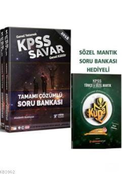 2018 KPSS Savar Genel Yetenek Genel Kültür Tamamı Çözümlü Soru Bankası (2 Kitap)