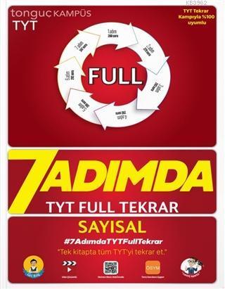 Tonguç Akademi 7 Adımda TYT Full Tekrar Soru Bankası-Sayısal