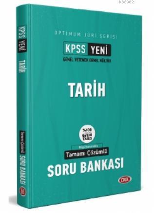 Kpss Optimum Juri Serisi Tarih Tamamı Çözümlü Soru Bankası Hazırlık Kitabı