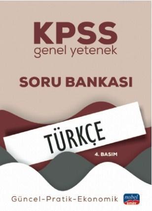 KPSS Genel Yetenek Türkçe Soru Bankası; Güncel-Pratik-Ekonomik