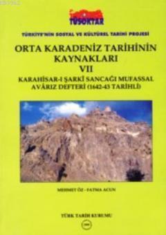 Orta Karadeniz Tarihinin Kaynakları VII