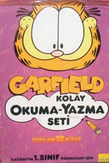 Garfield Kolay Okuma-Yazma Seti (12 Kitap) Dev Poster Hediyeli