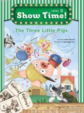 The Three Little Pigs + Workbook + Multirom; (Show Time Level 2)