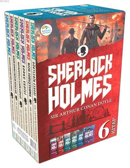 Sherlock Holmes Seti 6 Kitap (Kutulu)
