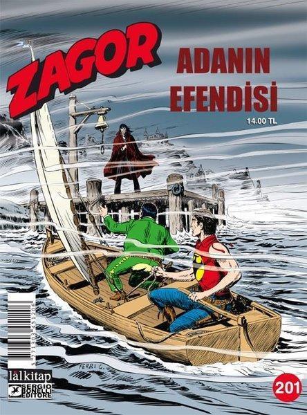 Zagor - Sayı 201a; Adanın Efendisi