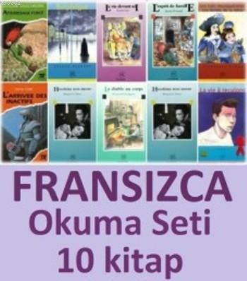 Fransızca Okuma Seti; 10 Kitap