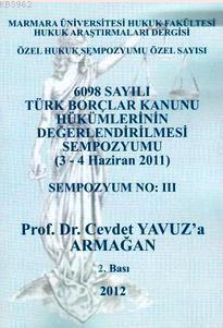 Prof. Dr. Cevdet Yavuz'a Armağan