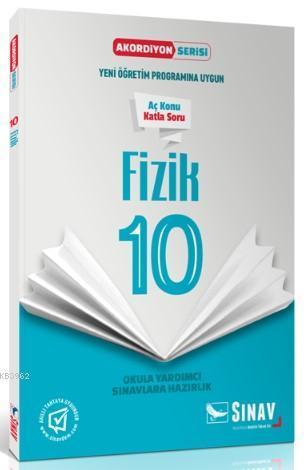 Sınav Dergisi Yayınları 10. Sınıf Fizik Akordiyon Serisi Aç Konu Katla Soru Sınav Dergisi
