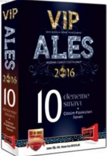 ALES VIP Çözümlü 10 Deneme Sınavı 2016
