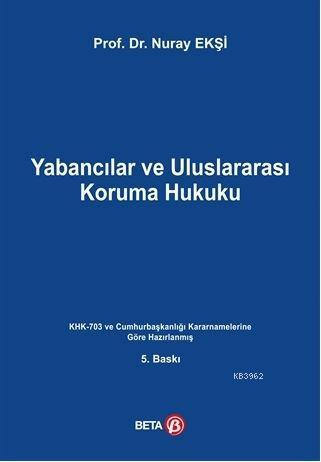 Yabancılar ve Uluslararası Koruma Hukuku