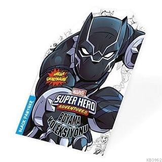 Black Panter - Marvel Süper Kahramanlar Boyama Koleksiyonu