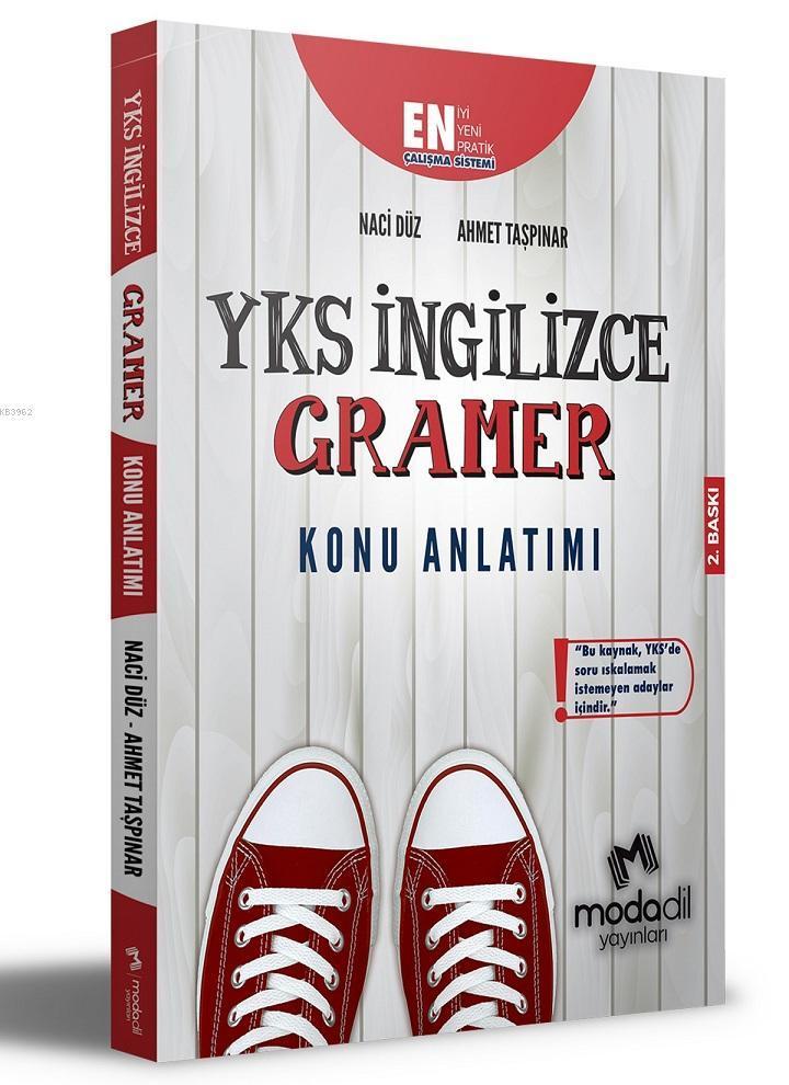 YKS İngilizce Gramer Konu Anlatımı Modadil Yayınları
