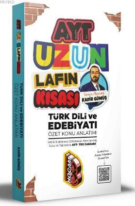 2021 AYT Uzun Lafın Kısası Türk Dili ve Edebiyatı Özet Konu Anlatımı