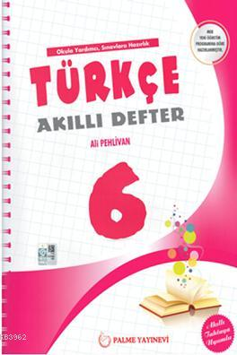 6.Sınıf Türkçe Akıllı Defter; Akıllı Tahtaya Uyumlu
