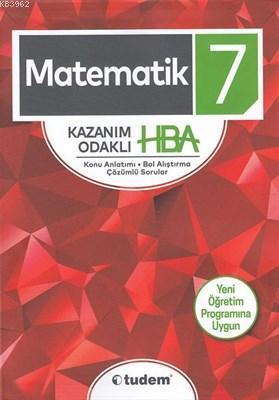 Tudem Yayınları 7. Sınıf Matematik Kazanım Odaklı HBA Tudem