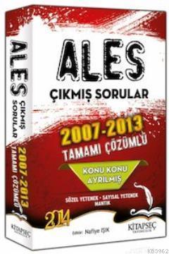 ALES Konu Konu Çözümlü 2007 - 2013 Çıkmış Sorular
