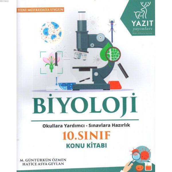 2019 10. Sınıf Biyoloji Konu Kitabı Okullara Yardımcı Sınavlara Hazırlık