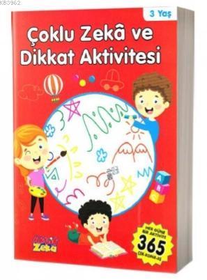 Çoklu Zeka ve Dikkat Aktivitesi 3 Yaş - Kırmızı Kitap