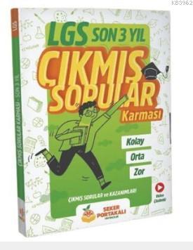 Şeker Portakalı Yayıncılık 8.Sınıf LGS Son 3 Yıl Çıkmış Sorular Karması