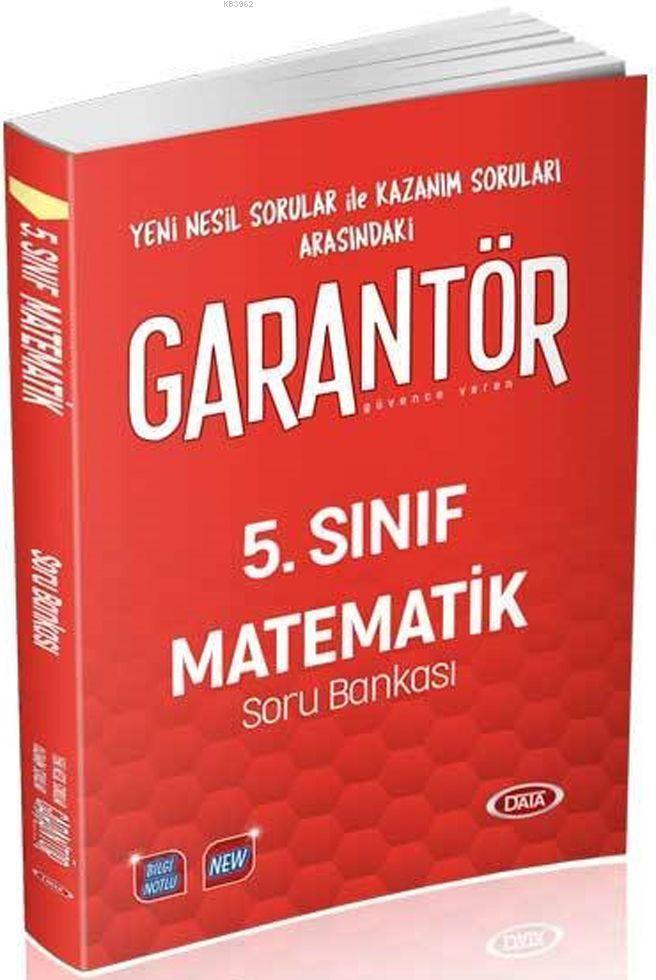 5. Sınıf Garantör Matematik Soru Bankası