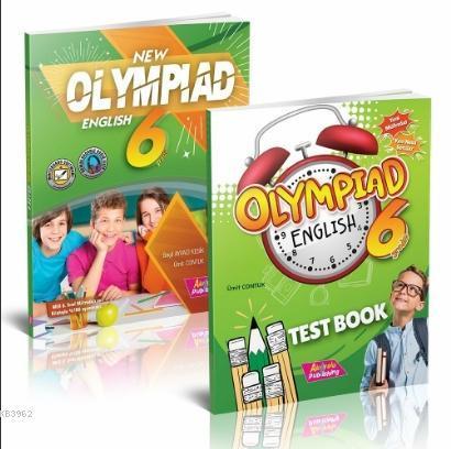 6 Sınıf Yeni Olimpiyat İngilizce; Test Kitabı 2 Kitap Set