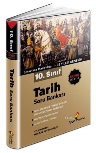 Aydın Yayınları 10. Sınıf Tarih Soru Bankası Aydın