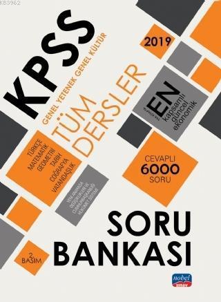 2019 KPSS Genel Yetenek Genel Kültür Tüm Dersler Soru Bankası