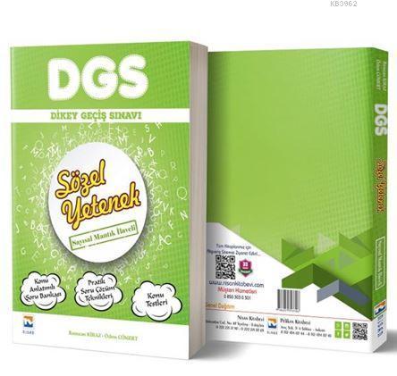 DGS Sözel Yetenek Tek Kitap Konu Anlatımlı Soru Bankası Sayısal Mantık İlaveli