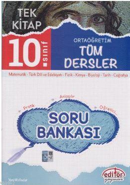 10. Sınıf Tüm Dersler Soru Bankası Tek Kitap