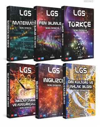 Yeni Nesil LGS Soru Bankası Kutulu Set (6 Kitap)