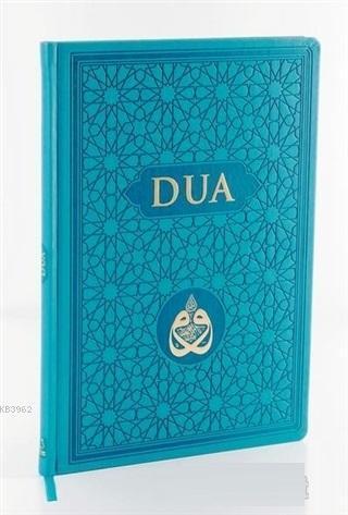DUA (Evrâd-ı Şerîfe) Rahle Boy - Arapça+Türkçe - Turkuaz