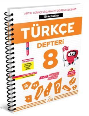 Arı Yayıncılık 8.Sınıf Türkçemino Türkçe Defteri