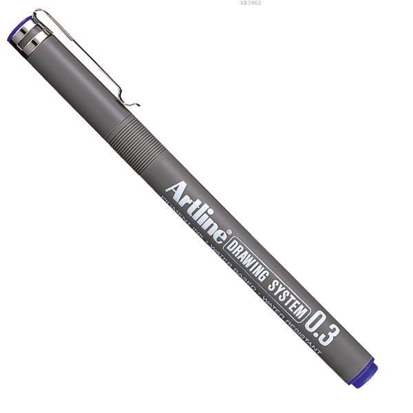Artline Çizim Kalemi Drawing System 233 Mavi