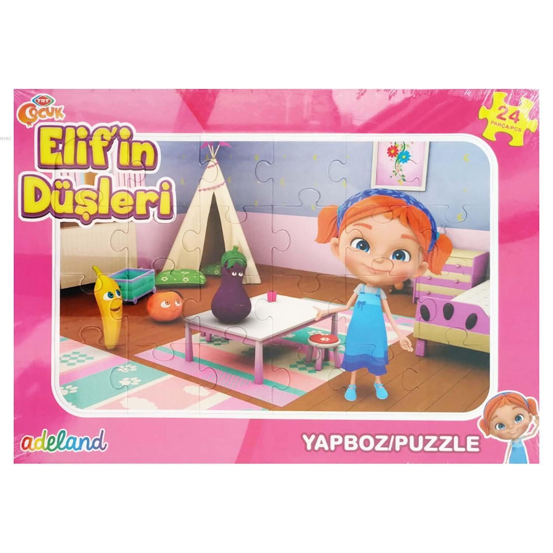Trt Çocuk 24 Parça Elif' in Düşleri Puzzle 201929