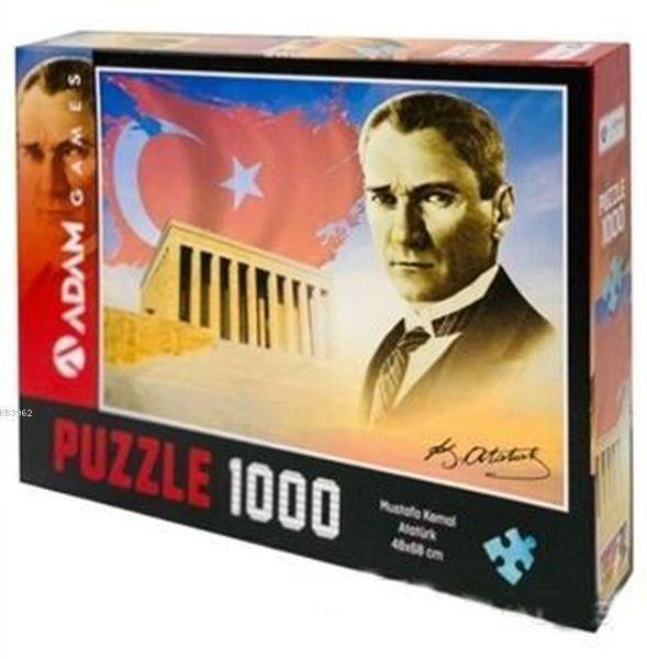 Adam Games Mustafa Kemal Atatürk 1000 Parça Puzzle 48x68